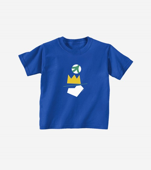 Pic of a t-shirt for kids with a colorful graphic