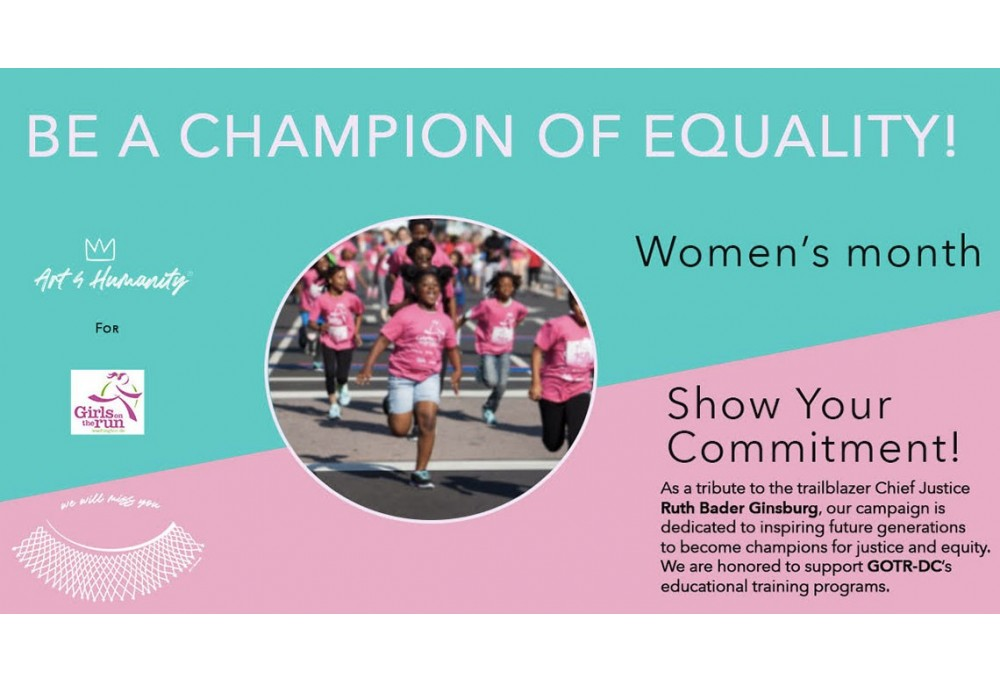 Be a Champion of Equality!